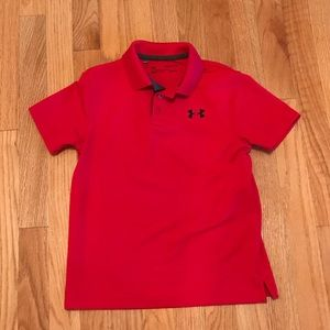 NWOT Boy's Youth Small Blue Under Armour Shirt